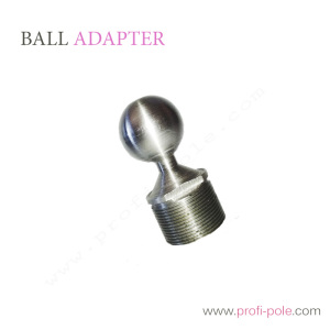 The ball adapter for flying Chinese pole